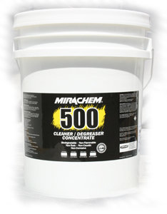 Mirachem 500 Cleaner Degreaser 5 Gallon Pail